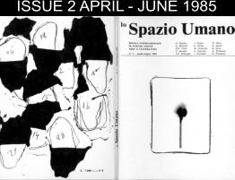 ISSUE 2 APRIL - JUNE 1985